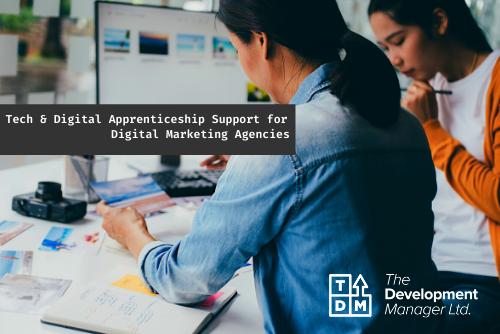 Tech & Digital Apprenticeship Support for Digital Marketing Agencies