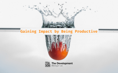 Gaining Impact by Being Productive