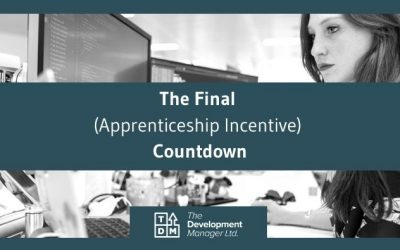 It's the Final (apprenticeship incentive) Countdown!