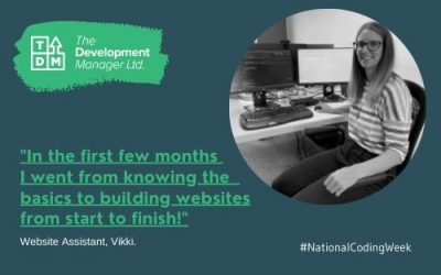 """""""From Basics to Website Building"""" – National Coding Week 2021"""