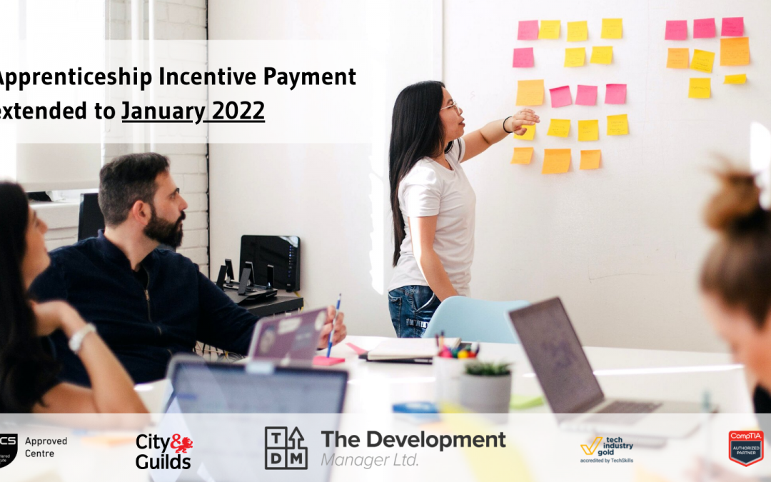 Apprenticeship Incentive Extension to January 2022!